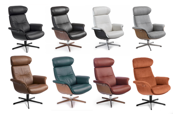 Custom Leather Timeout Chair Conform