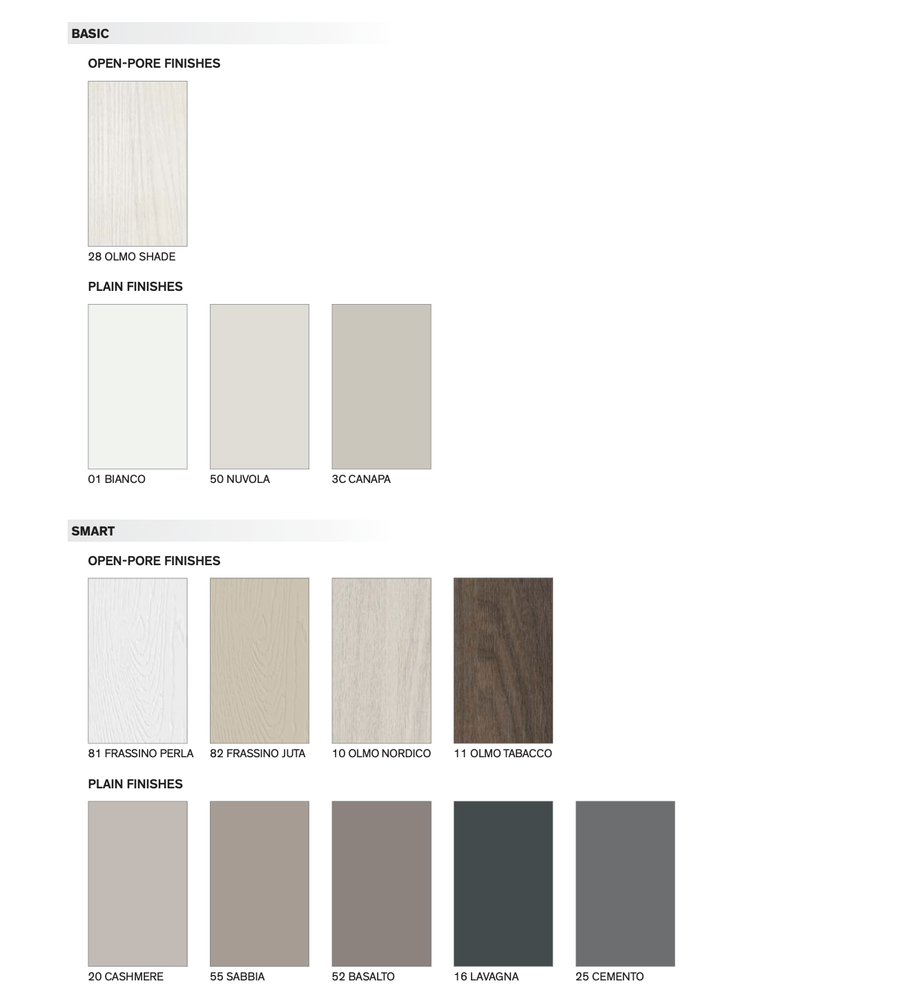 Custom Wall Bed Finishes