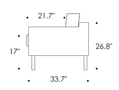 Eilersen Slice Sofa Dimensions