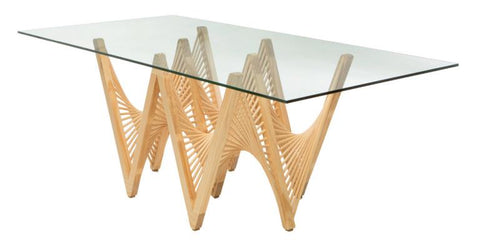 Geo Dining Table Base by Vito Selma