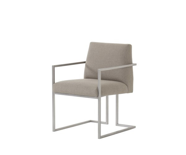 Paxton Dining Arm Chair in Macy Shadow by Maison 55