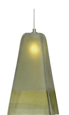 San Marco Small Green Pendant Light