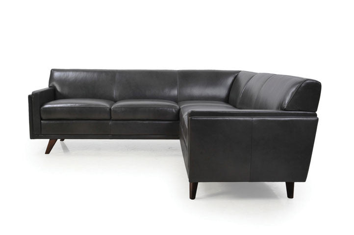Milo Leather Sectional Sofa