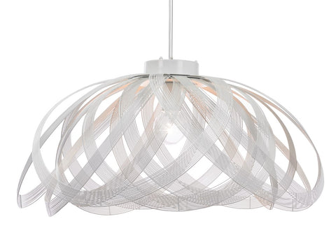 A Cote White Suspension Light