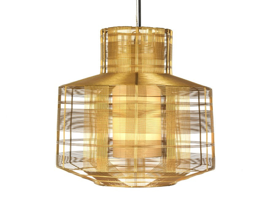 Busy Gold Pendant Light