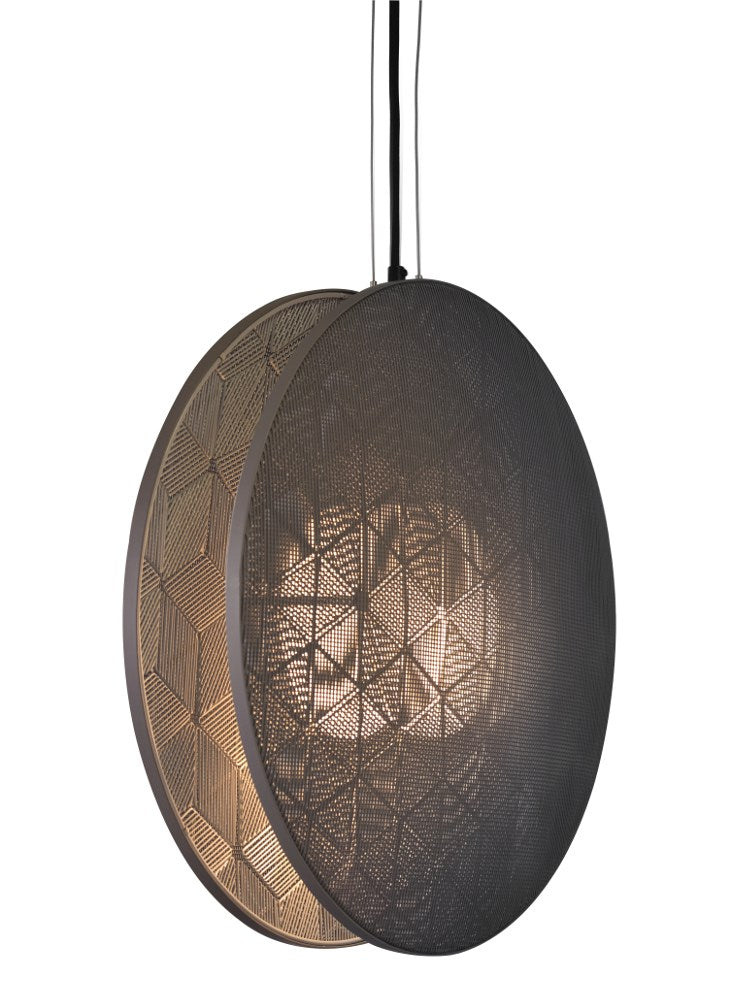 Hush Large Black Pendant Light