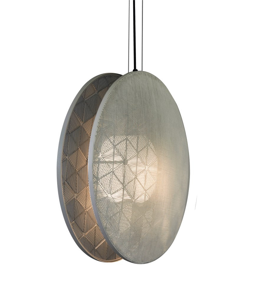 Hush Large White Pendant Light