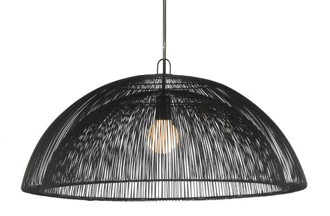 Moire Black Dome Light
