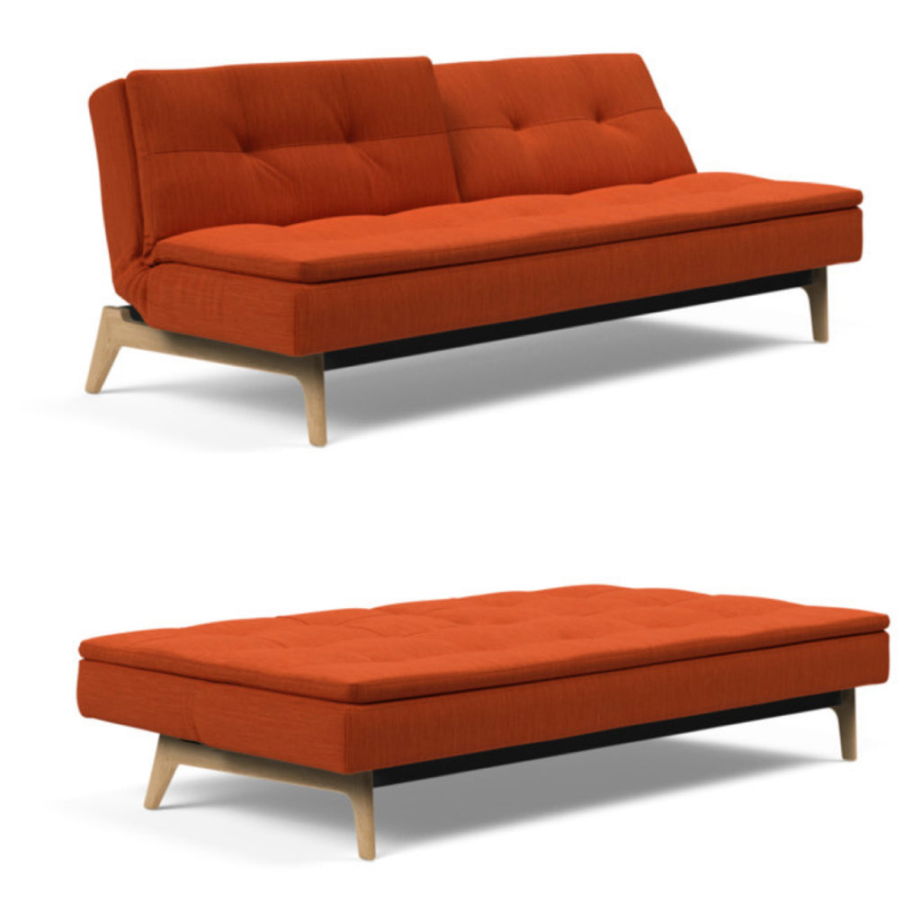 Dublexo Sofa with Eik Legs