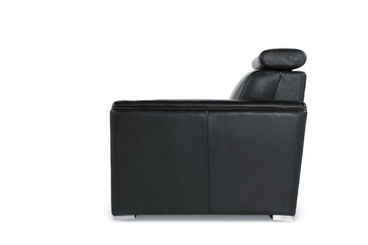 Ellie Leather Reclining Sofa By Moroni At Trade Source