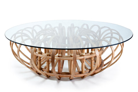 Aiden Rattan Cocktail Table