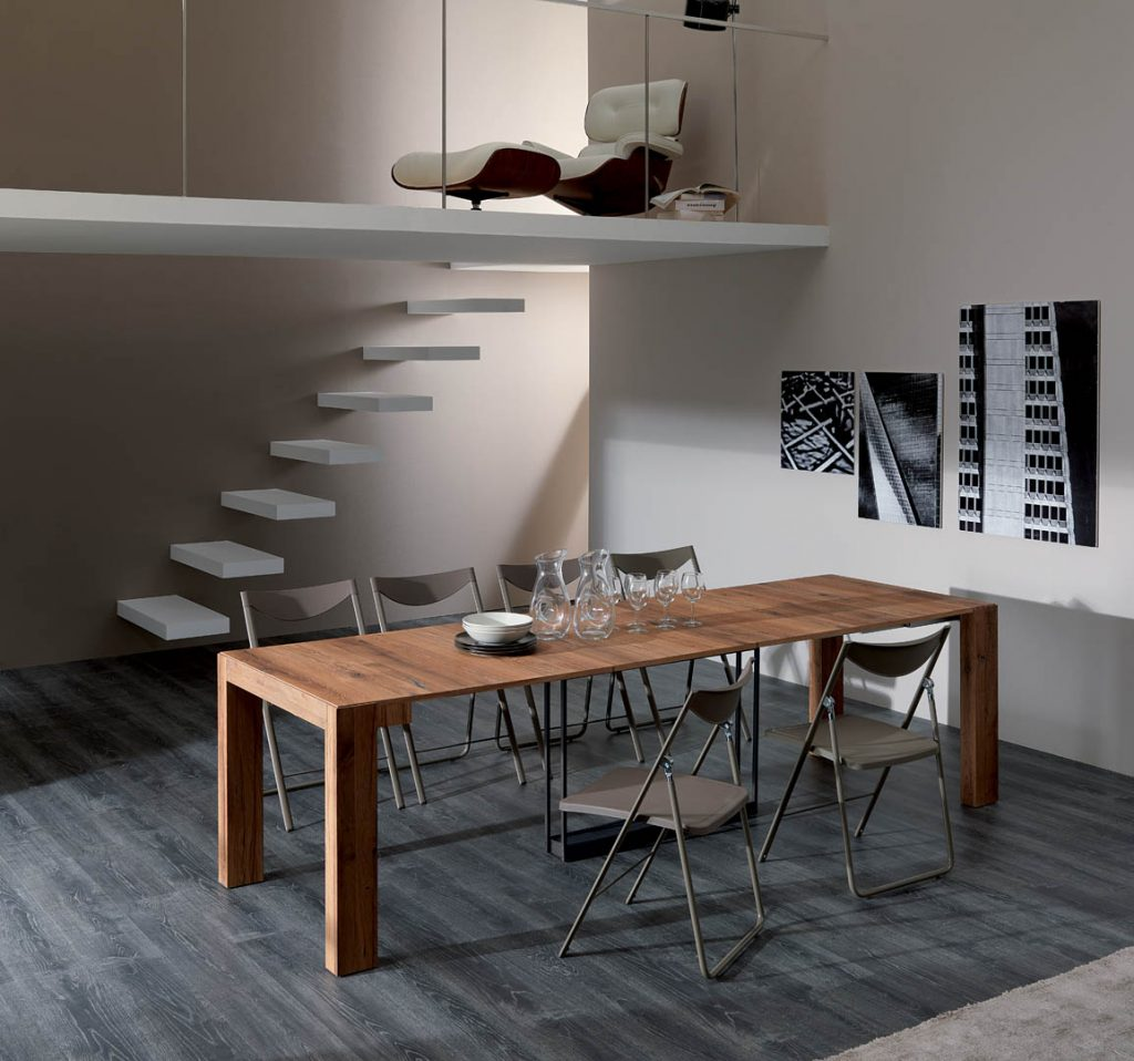 A4 Expandable Console To Dining Table By Ozzio Italia At Trade Source Trade Source Furniture