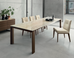 Omnia 86.5in to 110in Extendable Dining Table