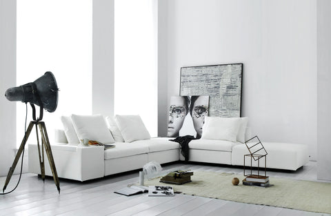 Custom EIlersen Dacapo Sectional Sofa