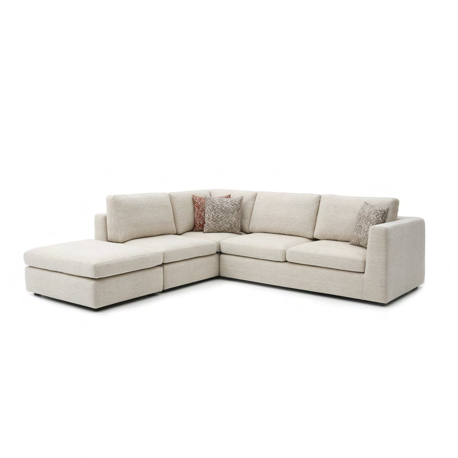 Swell Emily Sectional Sofa Ibusinesslaw Wood Chair Design Ideas Ibusinesslaworg