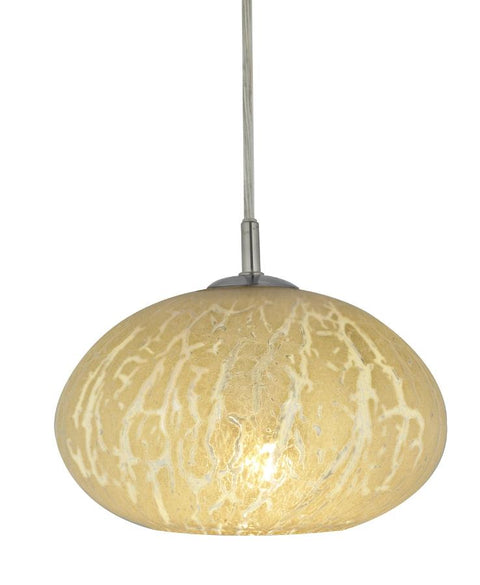 Oro Crackle Pendant