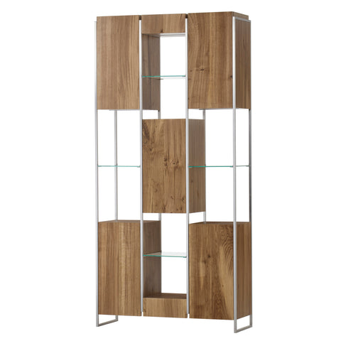 Marley Bookcase Large Light Oak