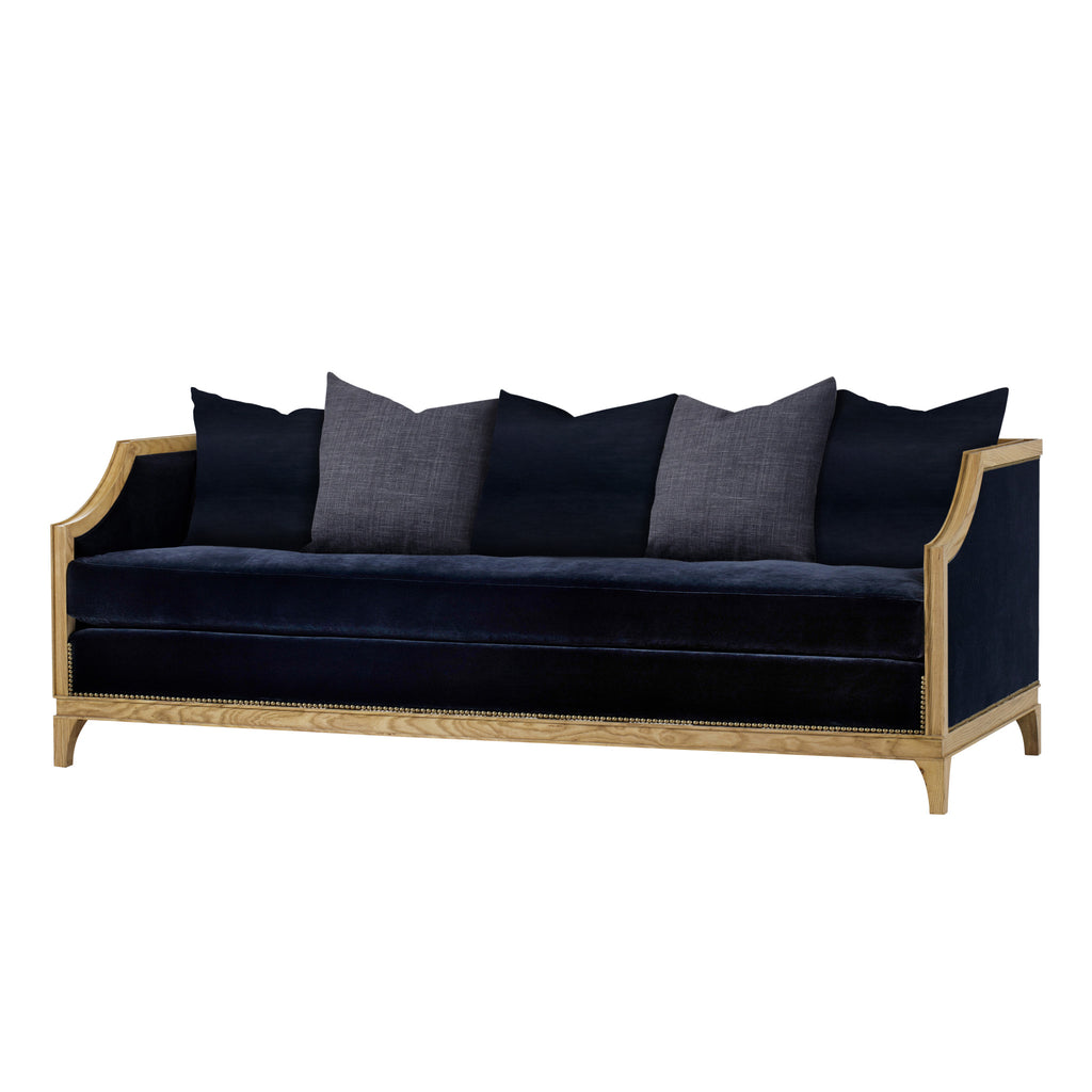 Henry Sofa - 3 Seater / Midnight Blue