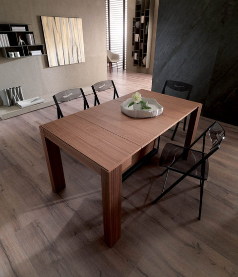 A4 Expandable Console to Dining Table
