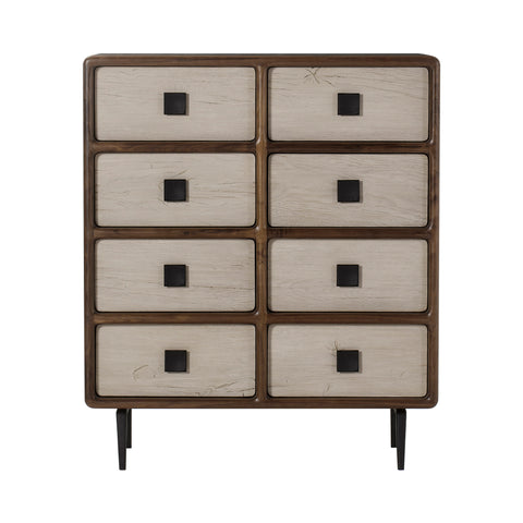 Da Vinci Dresser 8 Drawer Light Walnut
