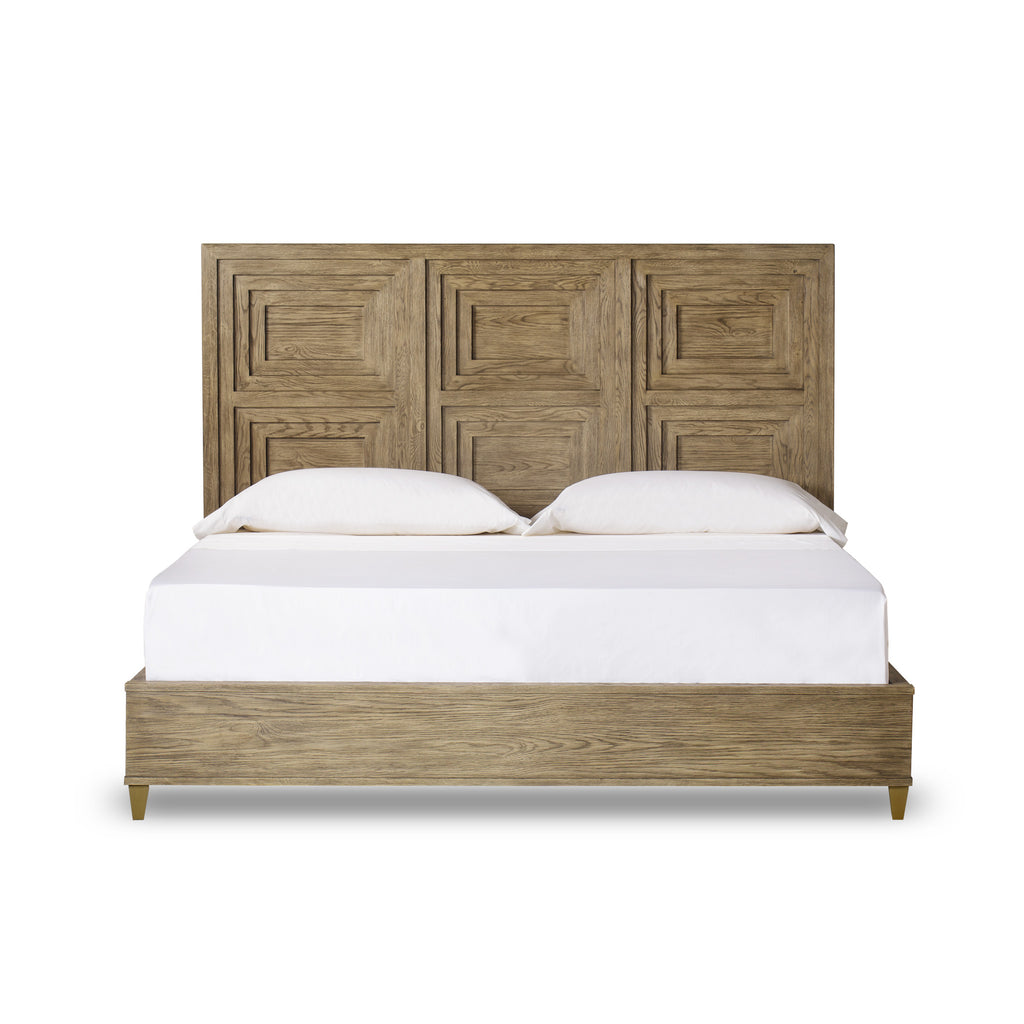 Claiborne Panel Bed King