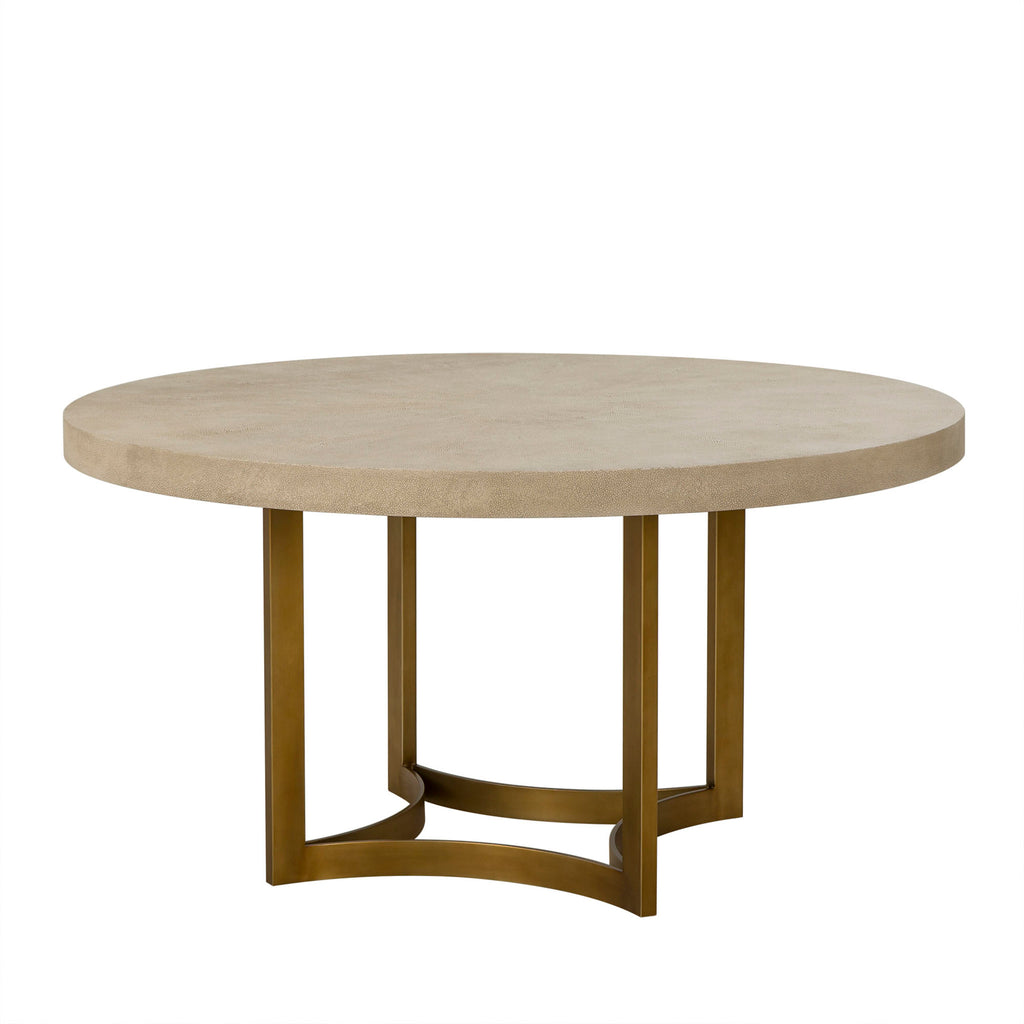 "60"" Round Lucas Dining Table by Maison 55"