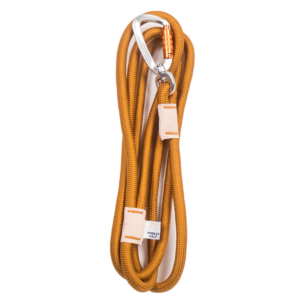Recycled Rope Leash Almond