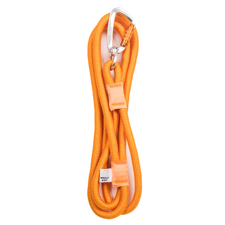 Recycled Rope Leash Golden Yellow