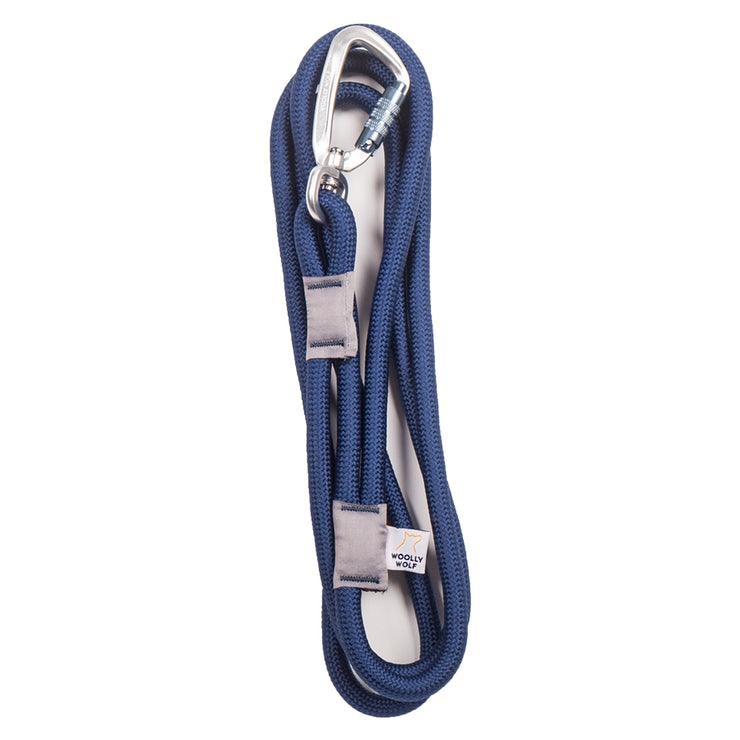Recycled Rope Leash Navy