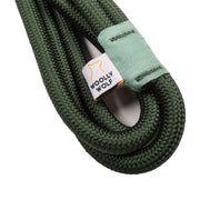 Recycled Rope Leash Evergreen
