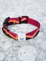 Peaks Dog Collar by Woolly Wolf