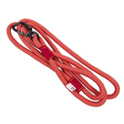 Peaks Rope Leash Cranberry