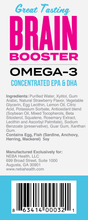 NEBA Health Brain Booster - concentrated Omega-3 EPA / DHA