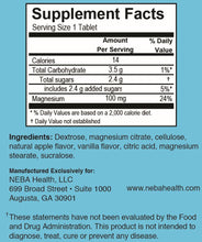 NEBA Health -  Captain Calm™ Magnesium Dietary Supplement