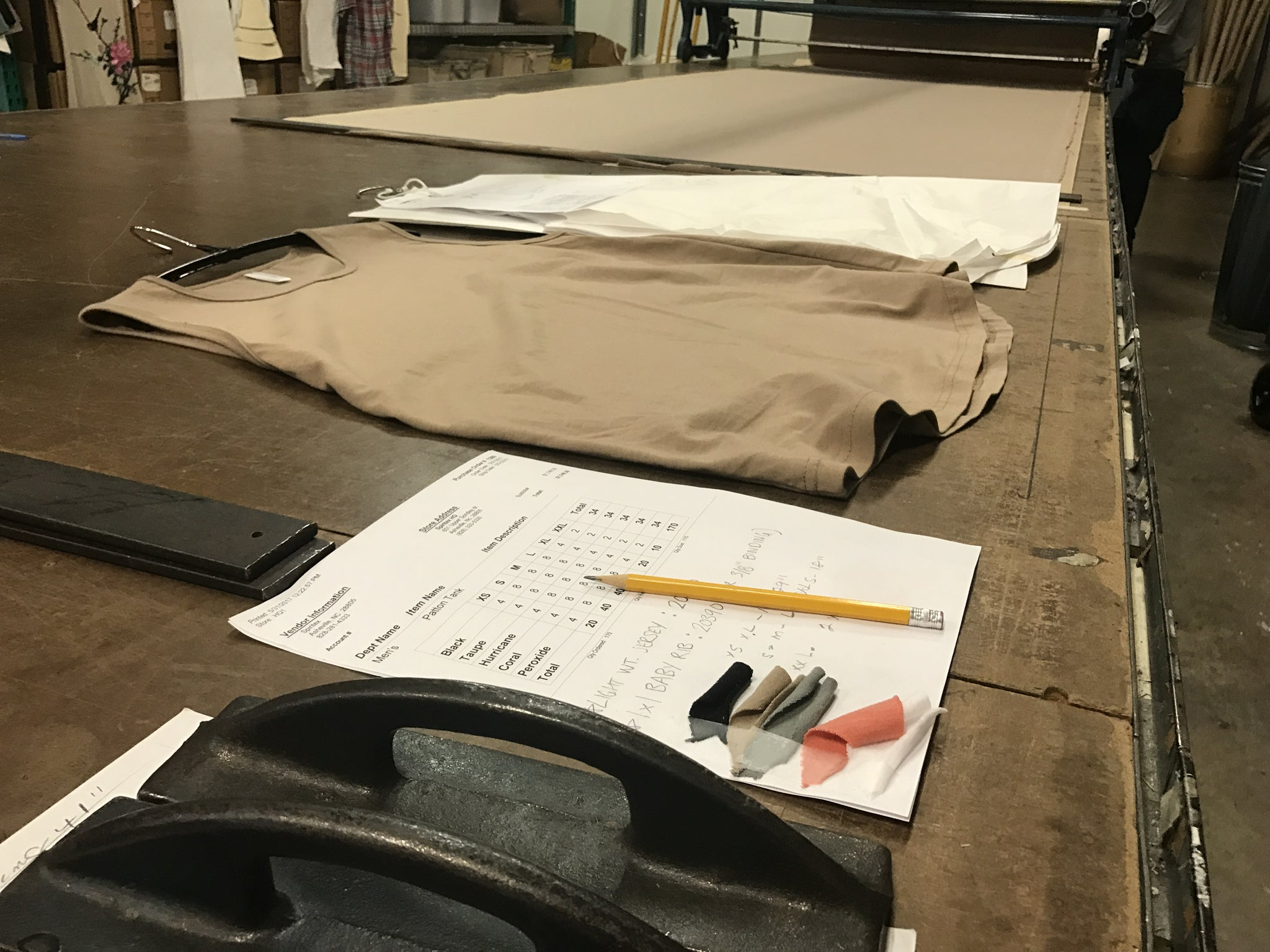 Insider Insight - What's on the Cutting Table.