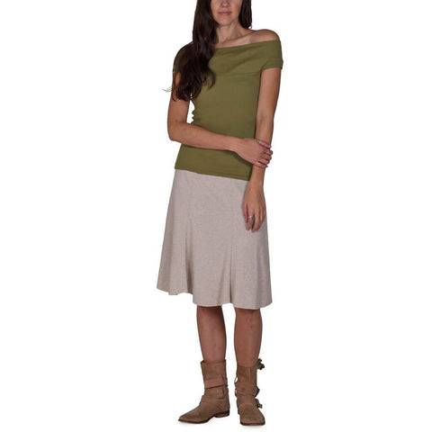 Women's 50/50 Bell Skirt - Linen - USA Made