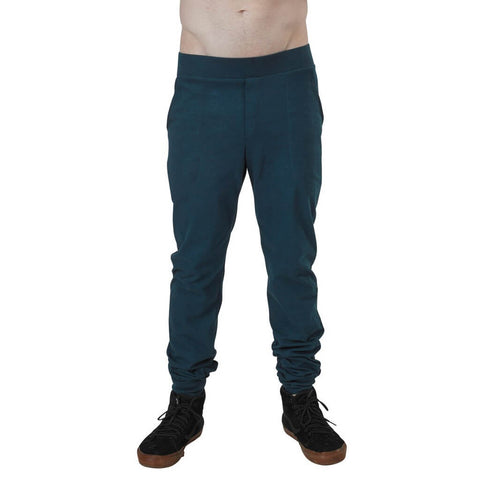 Men's Organic Cotton Jersey Jogger Pants - Reflection Pond - USA Made - Asheville Apparel