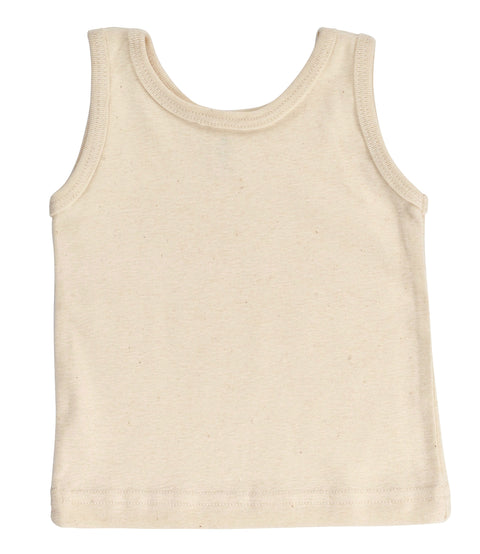 Kid's Organic Cotton Perfect Tank - Natural - USA Made - Asheville Apparel