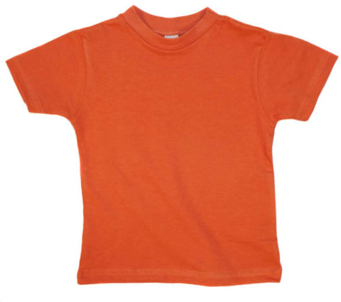Kid's Organic Cotton Short Sleeve Crewneck Tee - Firebird - USA Made - Asheville Apparel