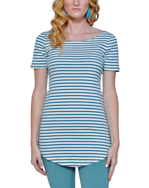 Organic Cotton Short Sleeve Maddi Tee - Asheville Apparel