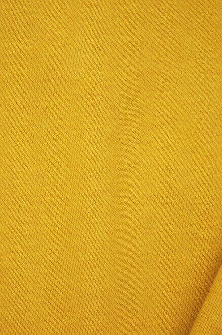 "Sample Swatch | 10114 | Heavyweight 1 x 1 Rib |  Honey | 100% Organic Cotton | 56-58"" Open Width 