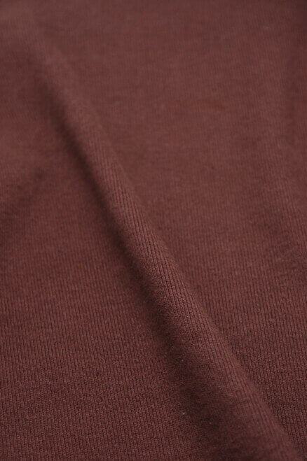 Sample Swatch | Heavyweight 1 x 1 Rib | Oxblood