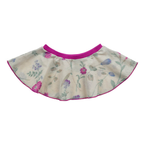 Organic Cotton Baby Swirl Skirt - Floral Print - USA Made - Asheville Apparel