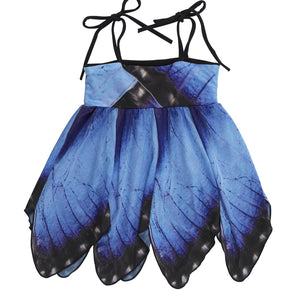 Kid's Blue Morpho Butterfly Dress