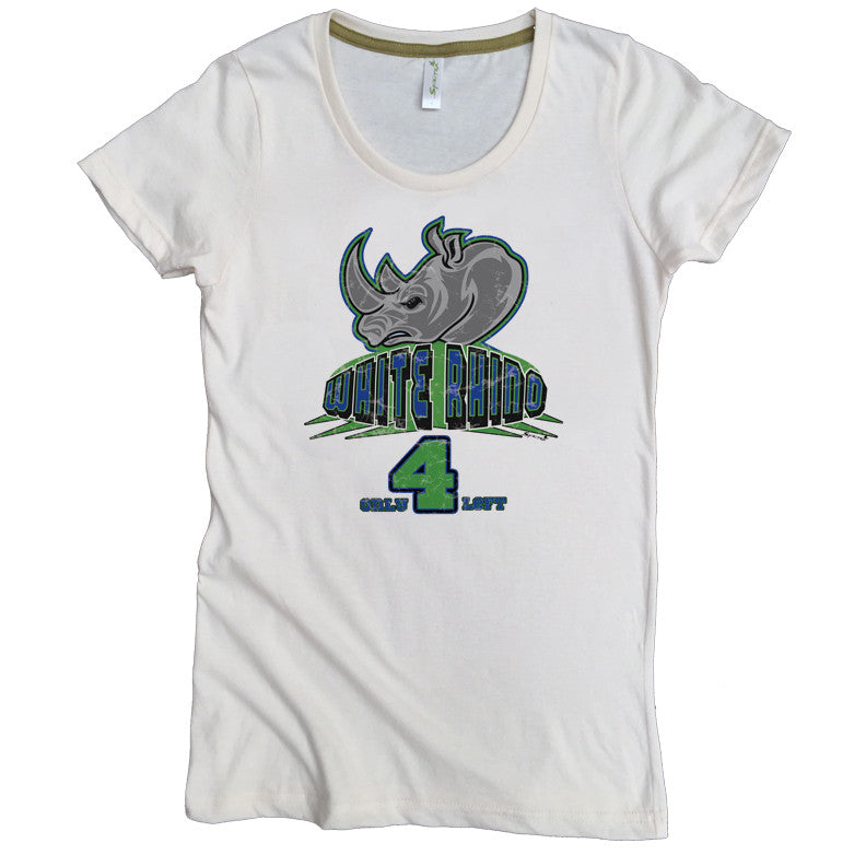 Endangered White Rhino Tee - Asheville Apparel