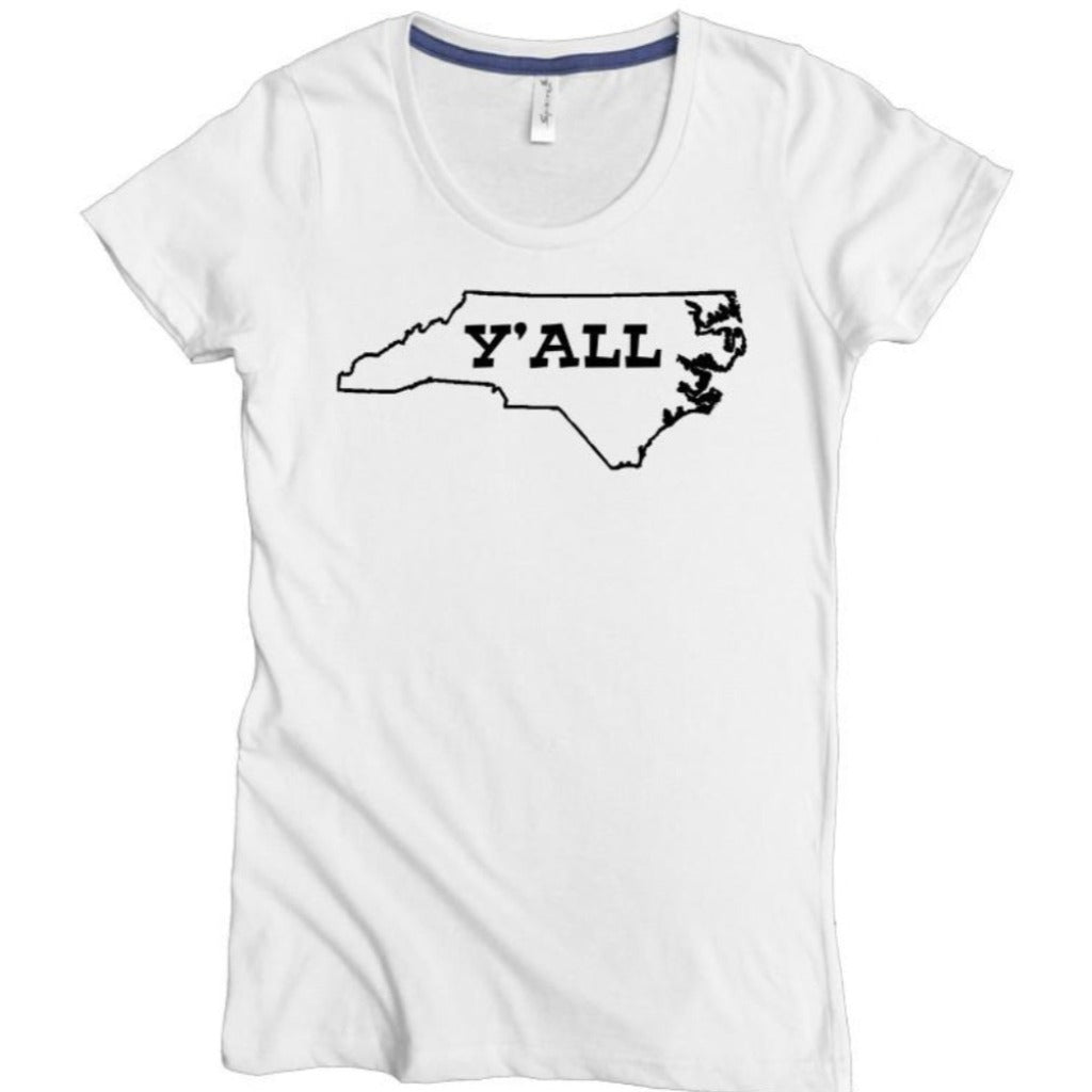 NC Y'all Tee - Asheville Apparel