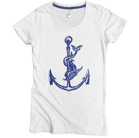 Anchor Tee - Asheville Apparel