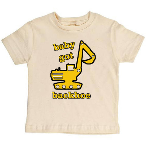 Baby Got Backhoe Youth Tee - Asheville Apparel