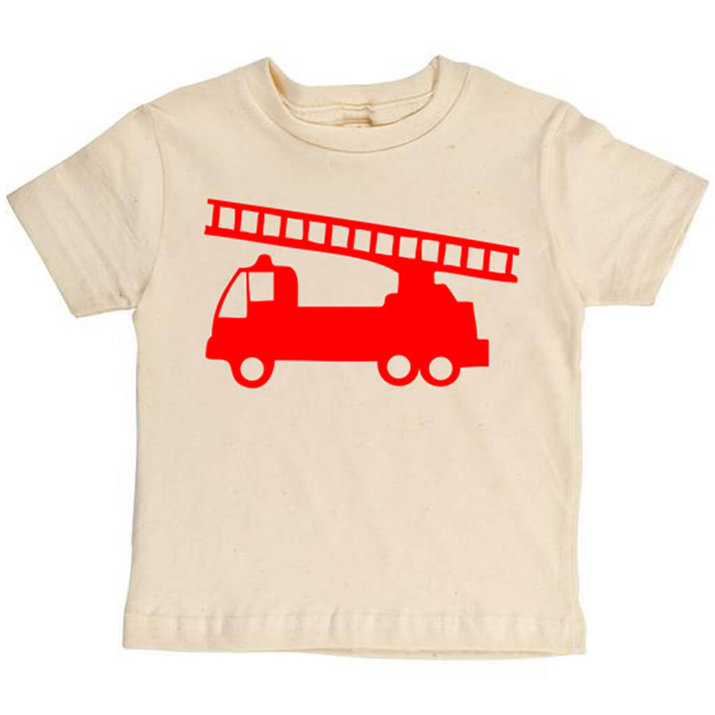 Firetruck Youth Tee - Asheville Apparel