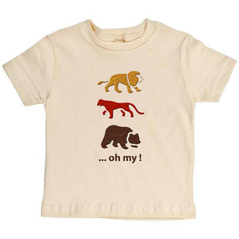 Lions,Tigers,And Bears Youth Tee - Asheville Apparel